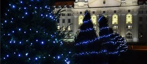 Nap képe: beköltözött a karácsony a Debreceni Egyetemre