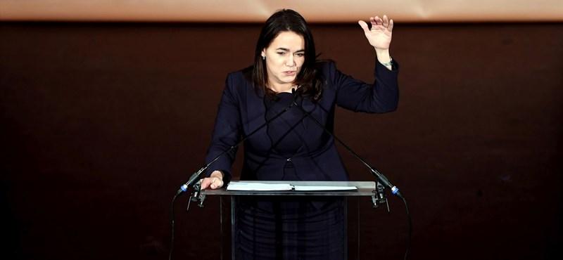 Novák Katalin gratulációja kiverte a biztosítékot a Néppártnál