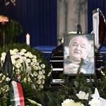 Fotó: Orbán is elment a jobboldali történész temetésére