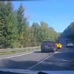Videó: Egy vétlen családapát ölt meg három sportkocsi közúti versenyzése