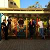 Éjjel bontaná el a pécsi önkormányzat a Kétfarkú által épített buszmegállót