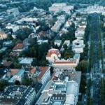 Így nézett ki a levegőből a Momentum május elsejei vonulása – videó