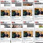 Megint Orbán folyt az összes megyei Mészáros lapból