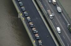 Nemrég újították fel az M0-ás Hárosi Duna-hídját, máris lezárták