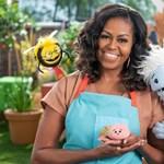 Michelle Obama bábokkal fog főzni a Netflix új sorozatában