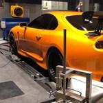 Több mint 2000 lóerő forgatja ennek a Toyota Suprának a kerekeit