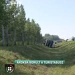 A lengyel busz egyik utasa halt meg a balesetben