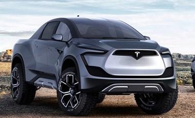 Elon Musk: Olyan lesz a Tesla pickupja, mint egy tank a jövőből