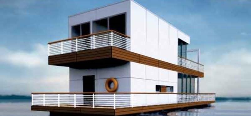 Gyönyörű házak, tengeri kilátással