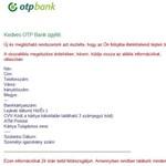 Adathalászok garázdálkodnak az OTP netbankjánál