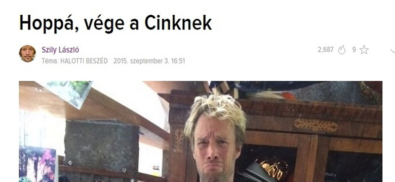Kár: Itt a vége, bezár a Cink.hu