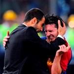 Messi a Facebookon búcsúzik Guardiolától