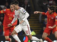Wales-Magyarország - 2:0