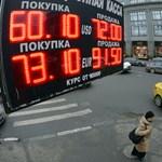Újra bezuhant a rubel