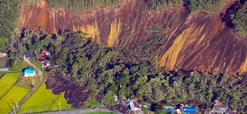 Erős földrengés volt Japánban, legalább 30-an eltűntek – fotók