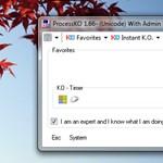A hét Windows programja: ProcessKO - üssünk ki felesleges alkalmazásokat és folyamatokat a gépen