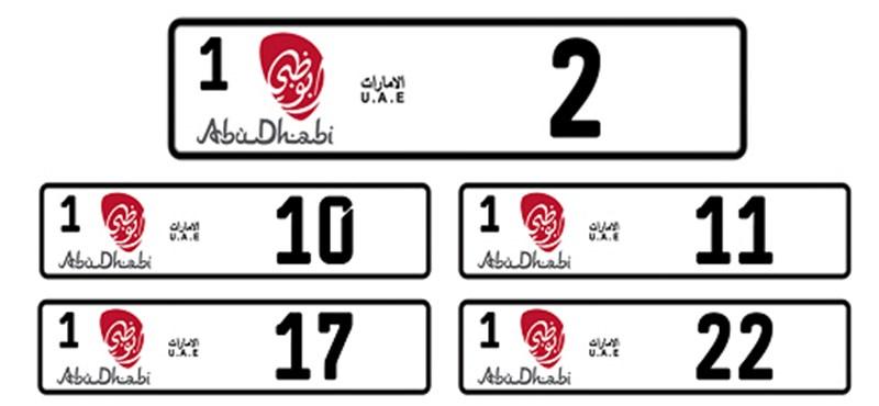107 milliót adott kedvenc rendszámáért egy arab ötödikes