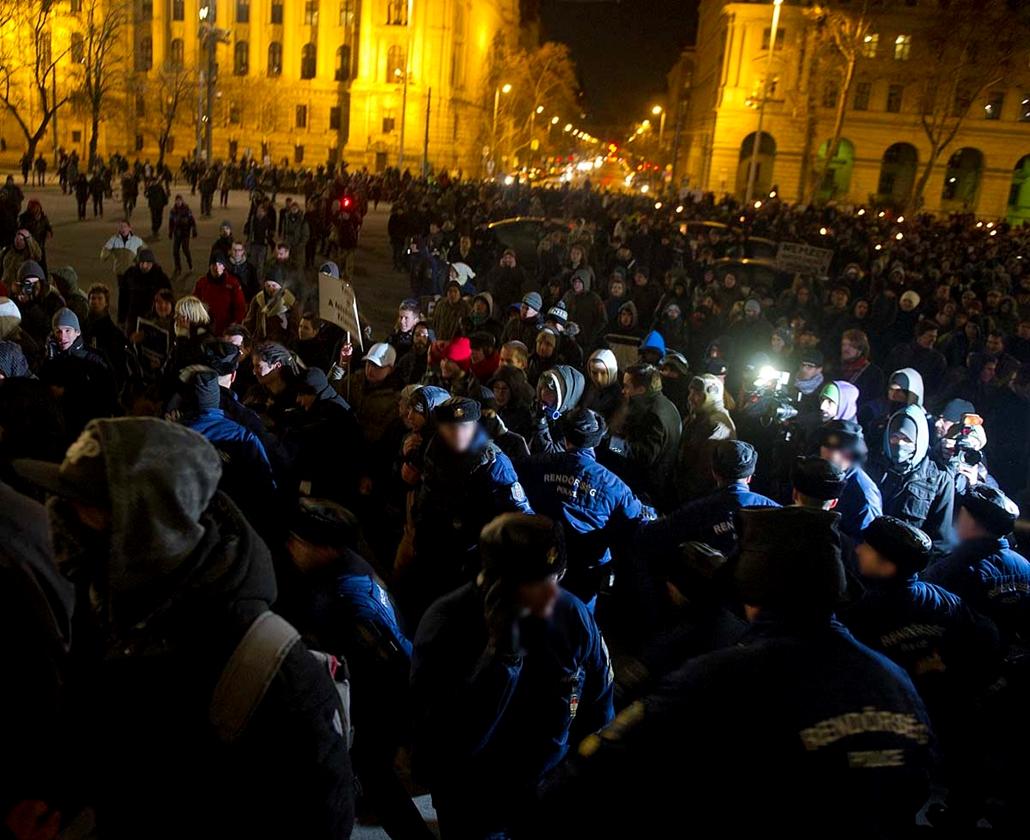 Nagyítás, HÖOK és a Hallgatói Hálózat Tüntetése Budapesten