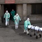 Egyetlen nap alatt 800-nál is több koronavírusos halt meg Spanyolországban