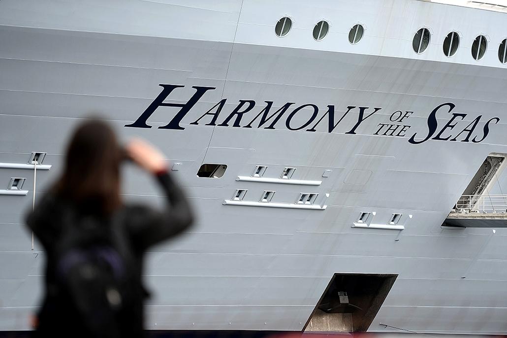 AFP.16.06.17. - Harmony of the seas - Tengerjáró hajó