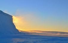 A felmelegedés újabb hatalmas gyomrost vitt be az Északi-sarkon