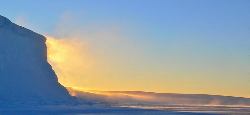 Kétszer olyan gyorsan melegszik az Északi-sarkvidék, mint a világ többi része