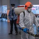 Videó: így szűrik koronavírusra a Kínából érkezőket a Liszt Ferenc repülőtéren