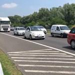 Lezárással és tereléssel folytatódik az M7-es autópálya felújítása