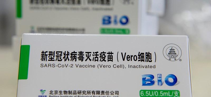Feljelentést tettek a kínai vakcina beszerzése miatt