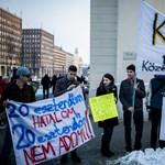 """""""Forrófejű agitátorok"""" - kiverte a biztosítékot az egyetemfoglalás a minisztériumnál"""