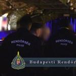 Razziázott a rendőrség a belvárosban