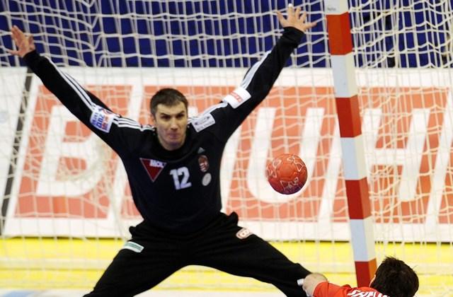 2012. január 16. - Fazekas Nándor az EHF Euro 2012-es orosz-magyar mérkőzésén