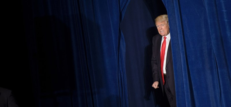 Donald Trump csütörtök este olyat tett, amit még soha azelőtt