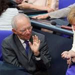 """Schäuble: Amerikában megfigyelhetjük, milyen az, ha valaki azt hiszi, hogy mindent pillanatok alatt el lehet intézni"""""""