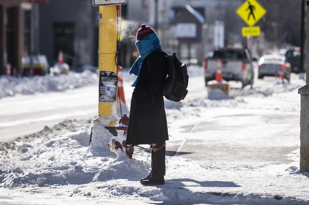 afp.19.01.30. rendkívüli hideg Minneapolisban