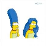 Fotó: Így néz ki Marge Simpson, ha leengedi toronyhaját
