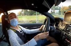 Robert Kubica besétált egy autókölcsönzőbe, majd kihajtott a Nürburgringre - videó