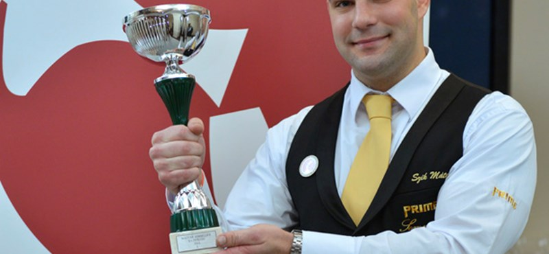 Háromszoros sommelier bajnok