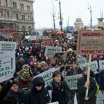 Nem a szervezők hívták meg Hoffmannt a tüntetésre