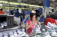 Koronavírus: nem kell a kereskedőknek olyan cipő, ami Kínában készül