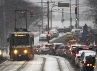 Az egész országot beboríthatja a hó