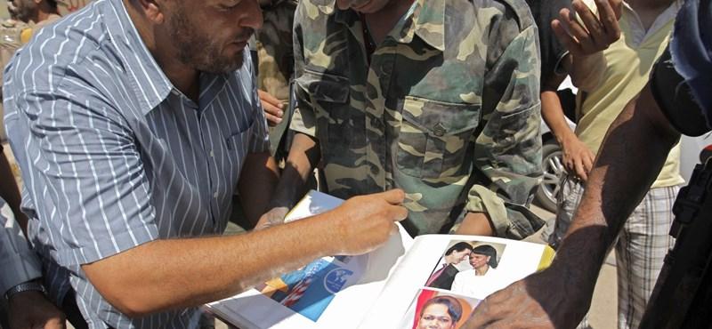 """""""Bizarr"""" fotóalbuma volt Kadhafinak Condoleezza Rice-ról"""