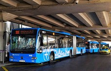 Sűrűbben járnak majd a reptéri 100E-buszok a csúcsidőkben