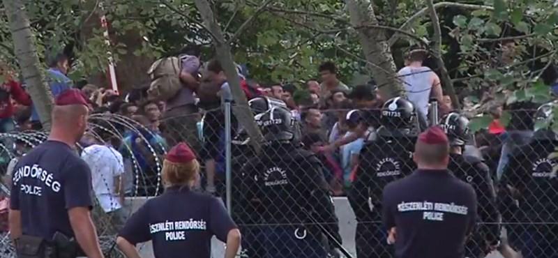 Újabb videó a megosztó röszkei rendőrségi akcióról