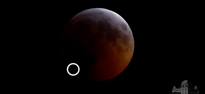 Ilyet se láttak még: fogyatkozás közben csapódott meteorit a Holdba