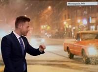 Javában ment az időjárás-előrejelzés, amikor közbeszólt a meteorológus okosórája – videó
