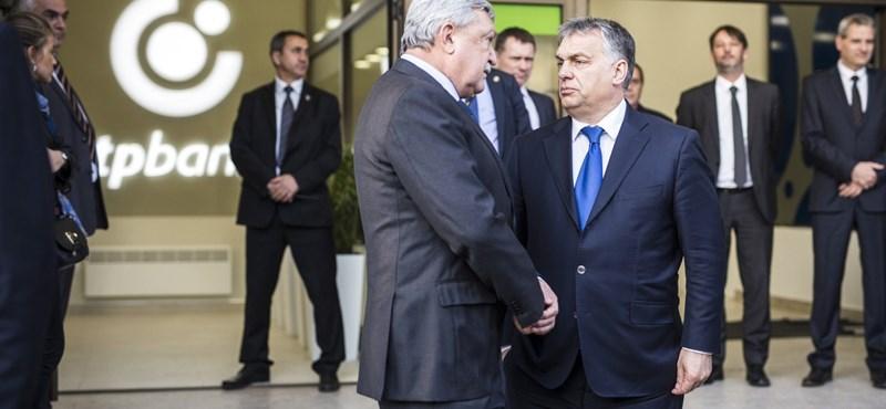 Orbán szimbolikus pillanatot élt át egy OTP-fiókban
