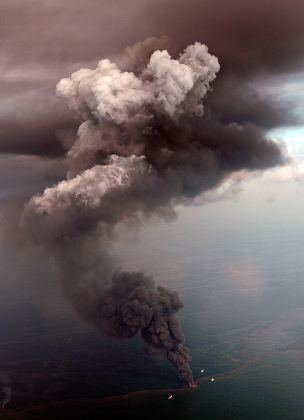 hét képei nagyítás olaj szennyezés bp