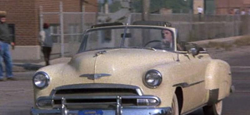 Aukcióra bocsátják Steve McQueen 1951-es Chevyjét