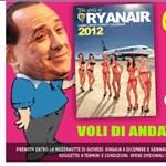 A Ryanair 10 eurós jegyet ajánl Berlusconinak a távozáshoz
